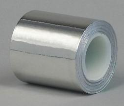 TAPECASE 15D571 Foil Tape,3 In. x 3 Yd.,Stainless Steel
