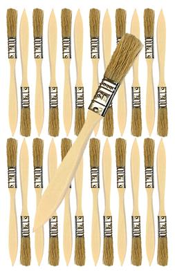 24 Pk- 1/2 inch Chip Paint Brushes for Paint, Stains,Varnish