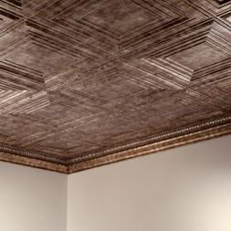Fasade - 2ft x 4ft Traditional Style #3 Glue Up Ceiling Tile
