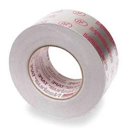NASHUA 324A Printed Foil Tape,2-1/2In x 60 Yd,Silver