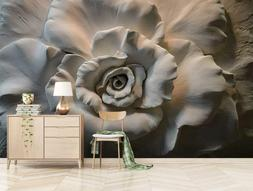 3D Blooming Flower 609 Wall Paper Exclusive MXY Wallpaper Mu