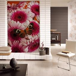 3D Blooming flowers 2 Wall Paper Wall Print Decal Wall Deco