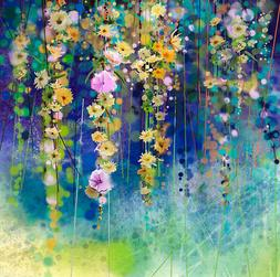 3D Blooming Flowers Vines2397 Wall Paper Wall Print Decal Wa
