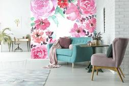 3D Blooming Peony Garden 55 Wall Paper Wall Print Decal Wall