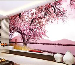 3D Blooming trees 99 Wall Paper Print Wall Decal Deco Indoor