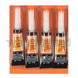 4 Tubes Super Glue  Strong Adhesive CYANOACRYLATE 3 grams