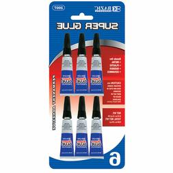 6 pcs Super Glue for bonds on metal plastic rubber ceramics