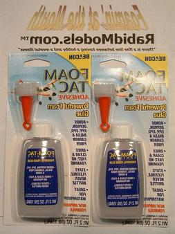 - 2oz Bottles of FOAM-TAC Glue - BEACON Adhesives - MADE IN