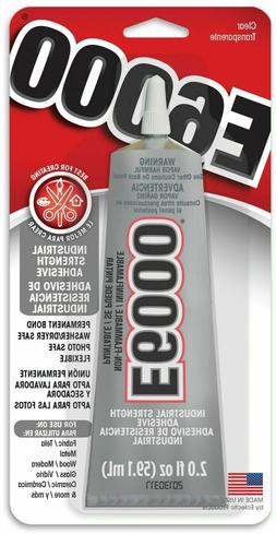 E6000 ADHESIVE 2.0OZ TUBE CLEAR GLUE CRAFT DIY JEWELRY PROJE