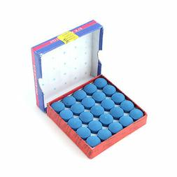 Box Of 50pcs Glue-on Pool Billiards Snooker Cue Tips 13mm