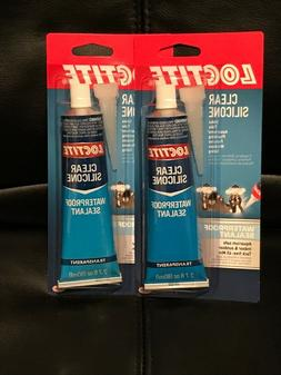 clear silicone waterproof sealant tube