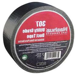 NASHUA 307 Duct Tape,2.8 In x 60 yd,7 mil,Black