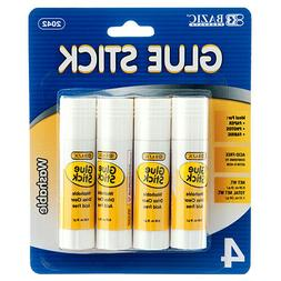 Glue Stick All Purpose School Glue Sticks Washable 4 set Glu
