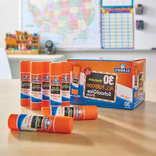 Elmers School Glue Stick Washable All Purpose Crafts SHIPPING