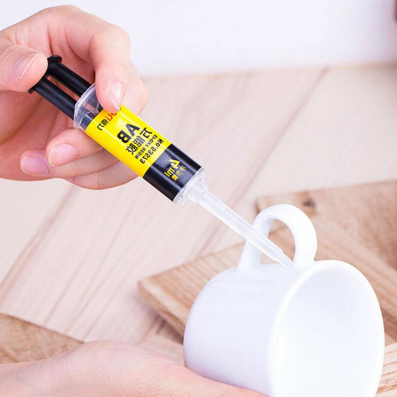 Epoxy Resin AB Glue Strong Adhesive Repair for Glass Ceramic