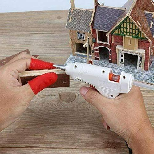 Silicone Protectors Glue Gun Arts Craft 12pcs