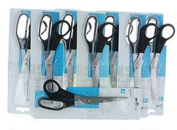 Lot of 8 All Purpose Scissors 8 Stainless Steel Home Office