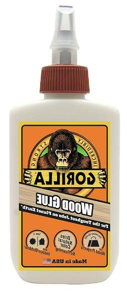 Gorilla Wood Glue, 4 ounce Bottle,